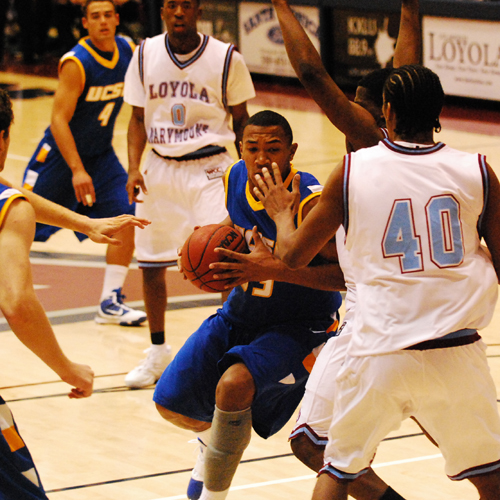 UCSB's leading score Orlando Johnson scored 16 points in an 89-84 win against his former team Loyola Marymount