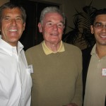 From right to left: Joe Howell, Larry Crandell, Arthur Muñoz