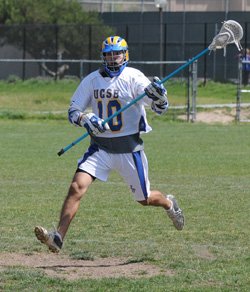 UCSB defender Joe Walsh