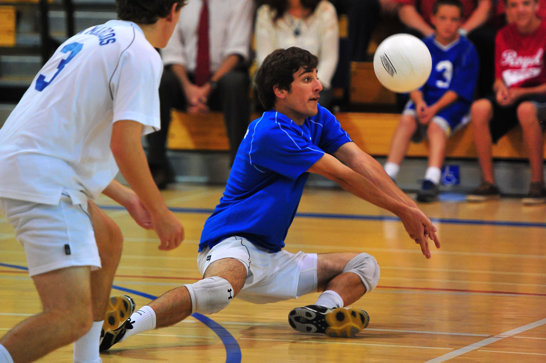 San Marcos' Jackson Kunz was an honorable mention for athlete of the week for leading the Royals to a big Channel League victory over Santa Barbara High. (Vince Agapito Photo)