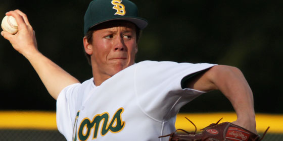 Kees t'Sas will be the Dons' starting pitcher on Tuesday in the CIF Division II semifinal.