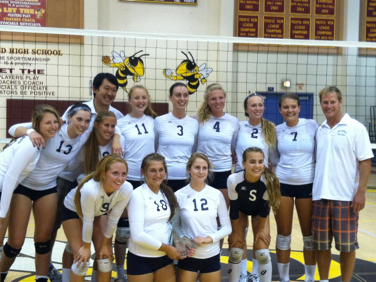 The Dos Pueblos girls volleyball team won four matches to capture the Oxnard Invitational preseason tournament.