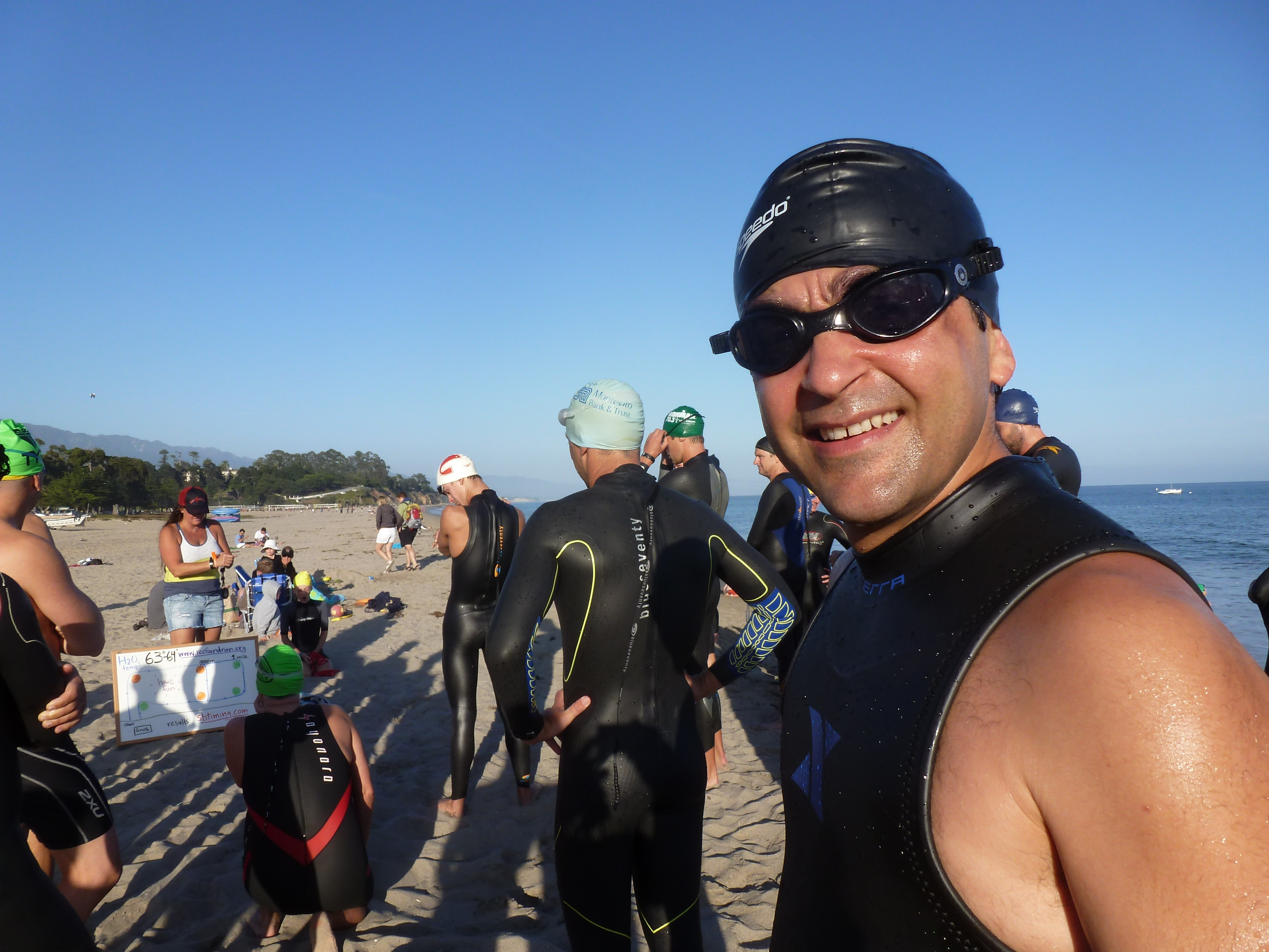 romo reefrun Prelude to the SB Triathlon: New jock Romo ready to give it a 'Tri'