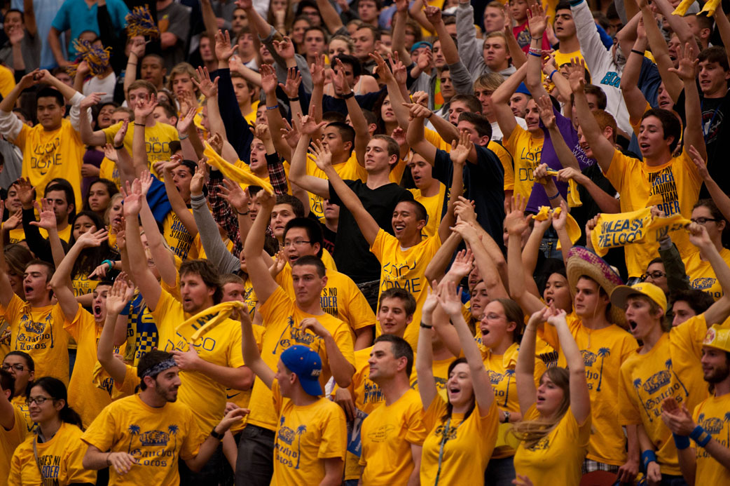 UCSB's biggest crowd of the season of 5,516 was treated to a double-overtime thrill ride at the Thunderdome.