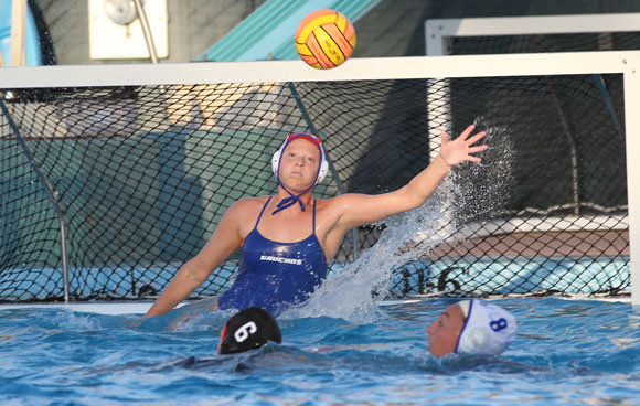 UCSB's Ruth Milne broke the career saves record this season for the Gauchos.