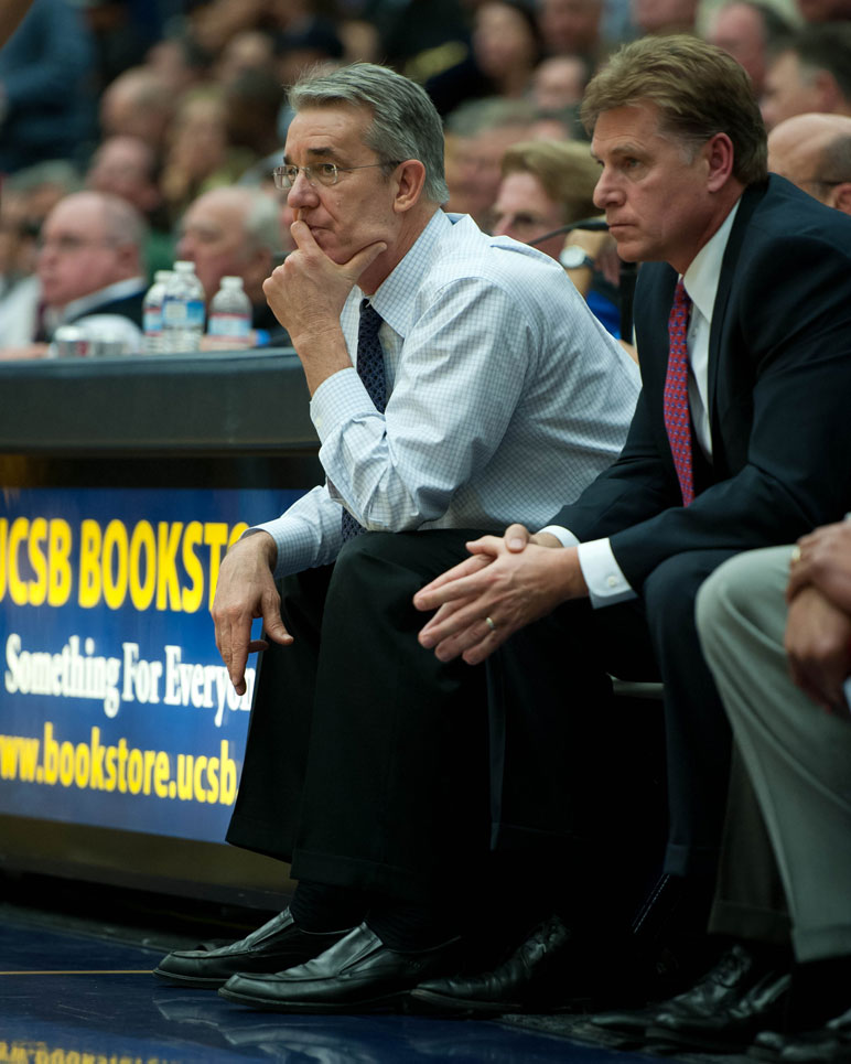 UCSB coach Bob Williams will be entering his 14th season at UCSB in 2012-13.