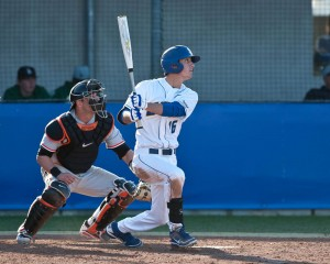 UCSB BrandonTrinkwon 300x240 Gauchos open Checketts era vs. Oregon State in front of packed house