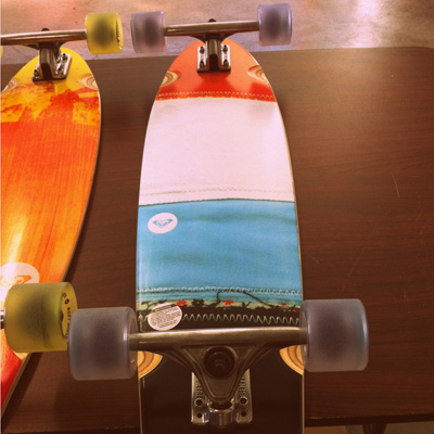 These Quiksilver decks look great and are ready to skate out the door!