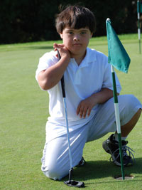 Finch golf SPORTS FIGURE OF THE MONTH: Ryan Fitch