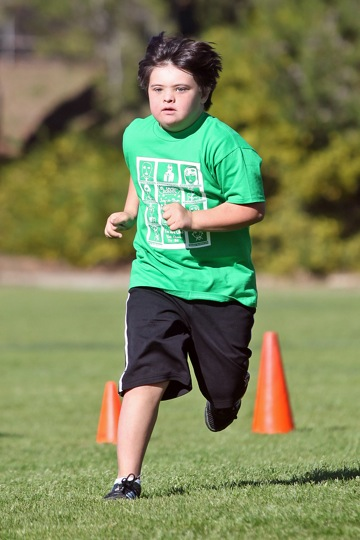 Ryan Finch raised more money at this year's jog-a-thon than any other classmate at El Camino Junior High.