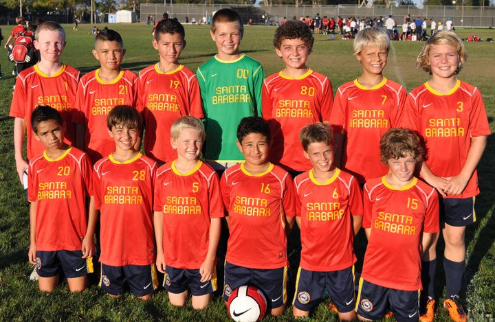 U12 Boys Soccer Team