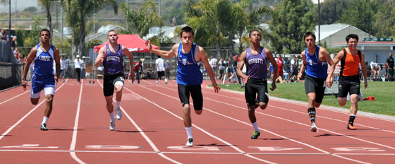 100meter SB County Championships: Zerrenner puts name on two county records