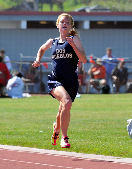 Addi Zerrenner SB County Championships: Zerrenner puts name on two county records