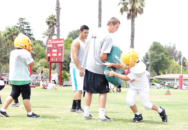 BishopCamp2 PHOTO GALLERY: Cardinal Football Camp