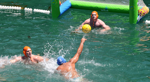 Ocean Water Polo By sea, sand, road, pool, court, 75th Semana Nautica was a hit