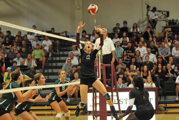Candice Adema Concordia beats back Westmont in five setter