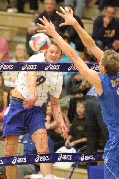 weston nielsen MVB: Bruins best Gauchos in four
