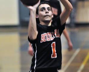 Beverly Hills' Siavash Yektafar led the Normans with 29 points