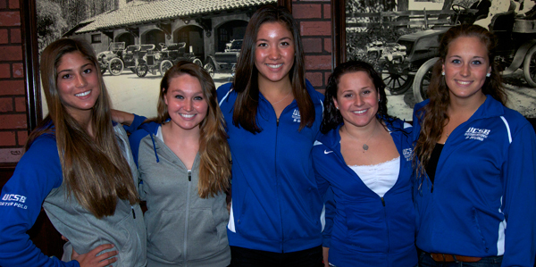 UCSB womens swim and dive Press Luncheon: Deserved praise falls on local coaches