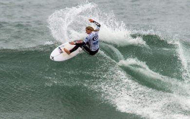 Lakey Peterson competes in Australia at Bells Beach. (ASP Photos)