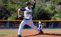 Dos Pueblos starting pitcher Josh Tedeschi earned his 10th win of the season on Friday.