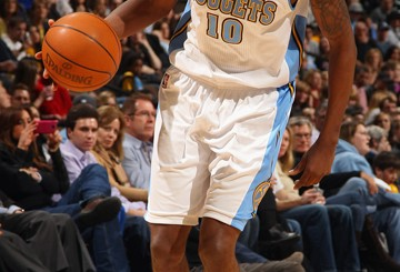 Denver Nuggets guard Julyan Stone