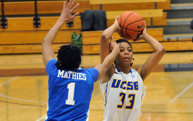 Destini Mason scored a career-high 23 points to lead UCSB over Hampton.