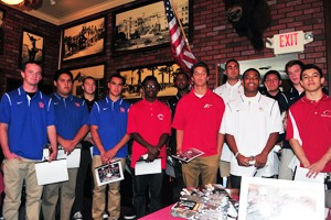 All-City Offensive Football Team