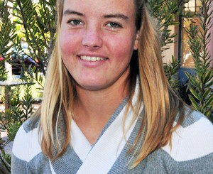 Kelsie Bryant is Carpinteria's recipient of the Phil Womble Ethics in Sports Award.