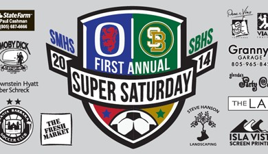 There will be rivalry soccer games at Santa Barbara High on Saturday at 11 a.m., 1 p.m., 3 p.m., and 5 p.m.