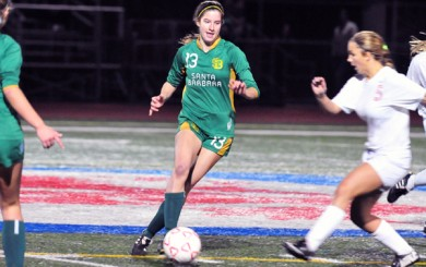 Julie Pitney - Santa Barbara High Soccer