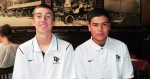Michael Boelter, left, and Joel Corona have helped the Dos Pueblos baseball team to  first place in the Channel League.