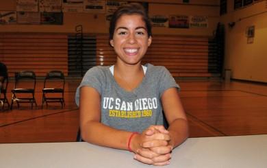 Nicole Berari - UC San Diego Swimming