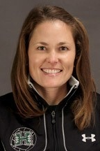 Serela Kay is the new women's water polo coach at UCSB.