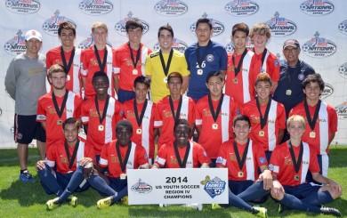 FWR14-U16B (CA-S) Santa Barbara Soccer Club