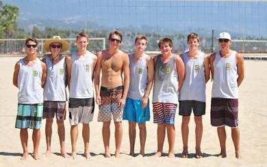 Santa Barbara High's beach volleyball team consists of Nico Smith