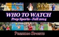 Who to Watch Prep Sports
