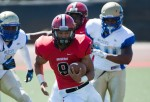 Cedric Cooper rushed for 121 yards to lead a potent SBCC running attack.